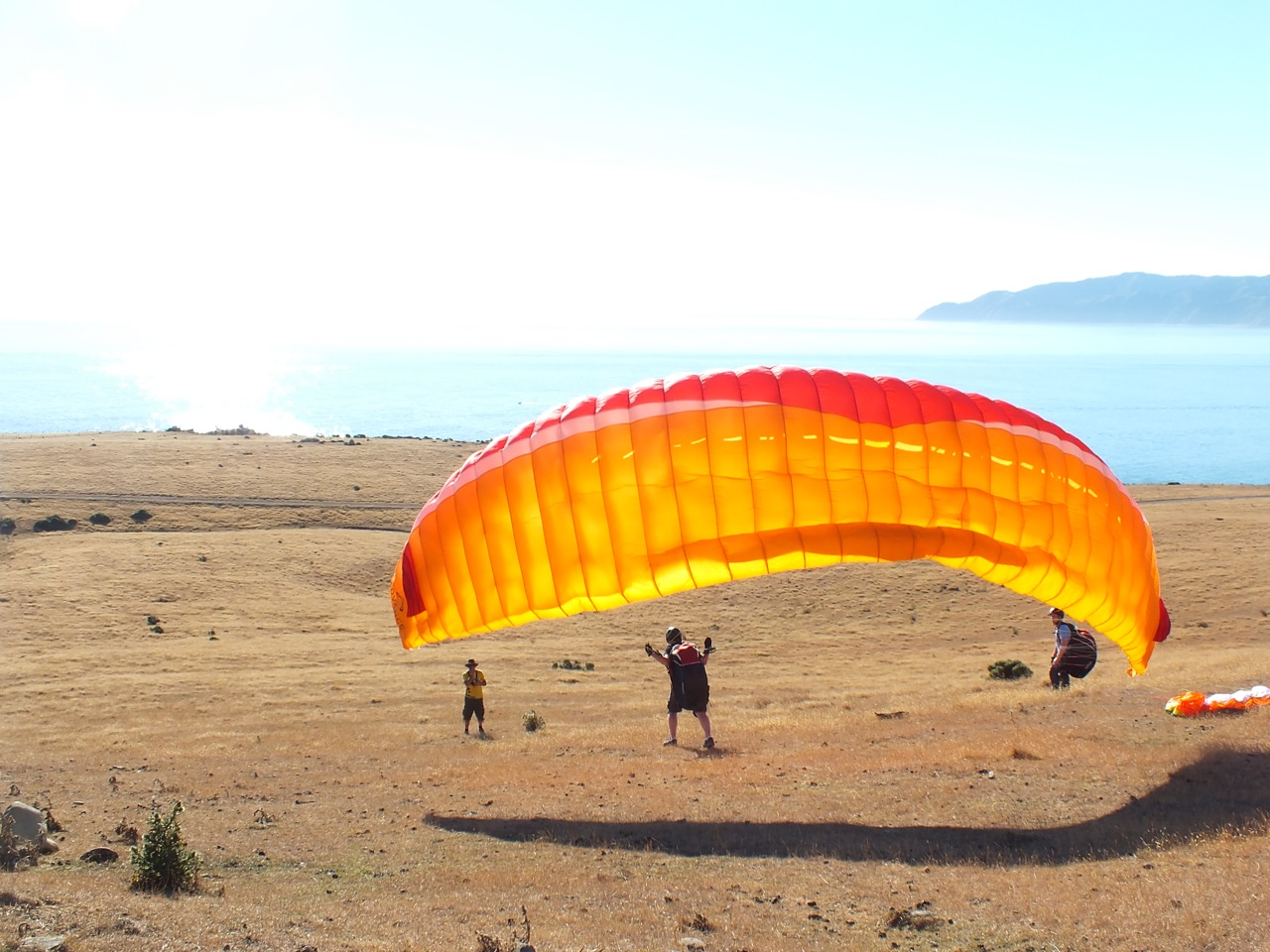 learn to fly paragliders
