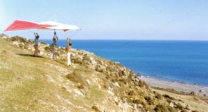 Baring Head 1974 Photo provided by Cooper Gyles